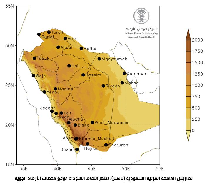 مناخ المملكة العربية السعودية